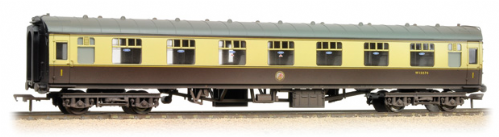 39-154C Bachmann Branchline BR Mk1 FK First Corridor (WR) Chocolate & Cream Weathered